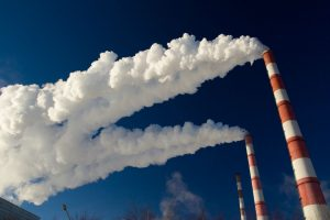 Естественное загрязнение воздуха