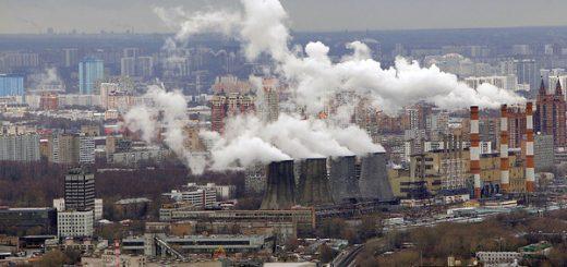 Источники загрязнения воздуха в Москве