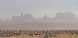 Загрязнение воздуха пылью