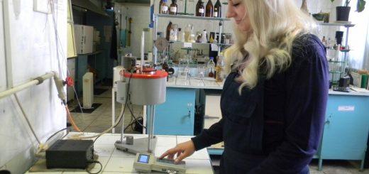Испытания топлива в лаборатории