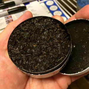 Химическое исследование жевательного табака